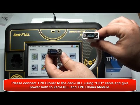 Cloning 46 Transponder onto TPX4 using Zed-FULL & TPH Cloner module