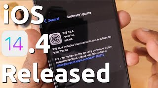 iOS 14.4 Released for iPhone | என்ன வந்திருக்கு?