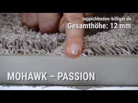 """Billiger teppichboden  Der Wohlfühl-Teppichboden """"Mohawk Passion"""" mit SmartStrand - YouTube"""