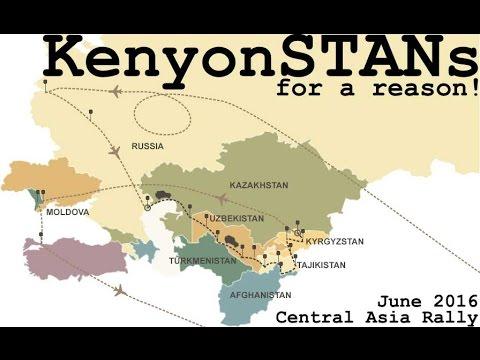 Central Asia Rally Part 1 - Day 2: Beyneu to Muynaq Beach - Kazakhstan / Uzbekistan