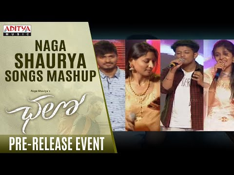 Naga Shaurya Songs Mashup Live Performance @ Chalo Pre Release Event