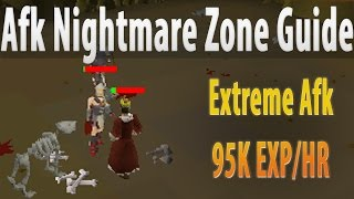 NMZ MOST AFK MELEE METHOD 95K Exp Per Hour [07 Runescape Guide]