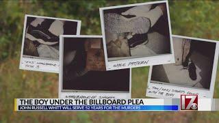 The Boy Under the Billboard plea