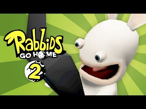 Rabbids Go Home - Episode 2 - In the Nick of Time (2-Player)