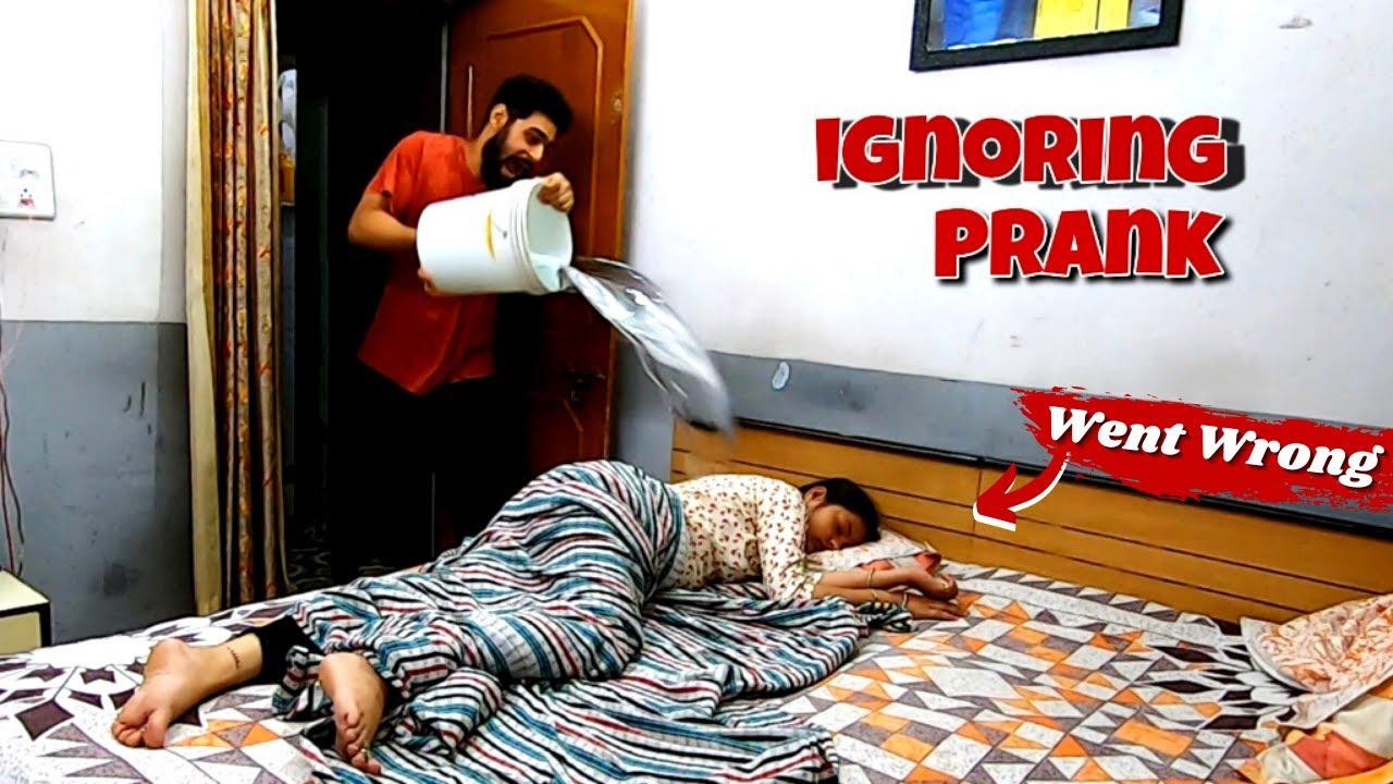Ignoring Prank On Husband Gone Wrong | Ulta Pad Gaya 🤣 🤣