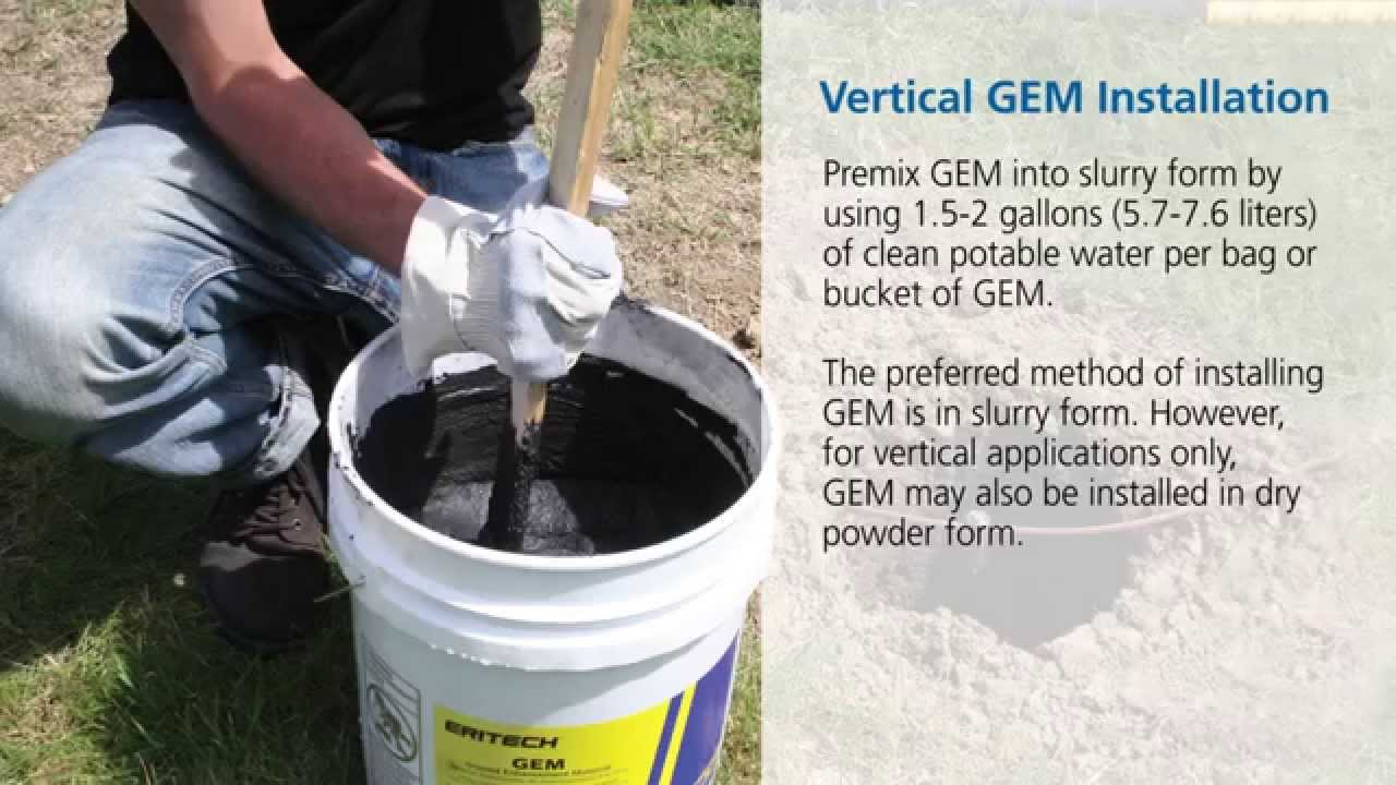 How To Install Ground Enhancement Material Gem Youtube