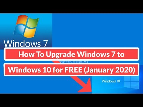 How To Upgrade Windows 7 to 10 for FREE [January 2020]