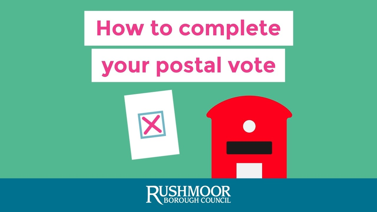 postal ballot procedure