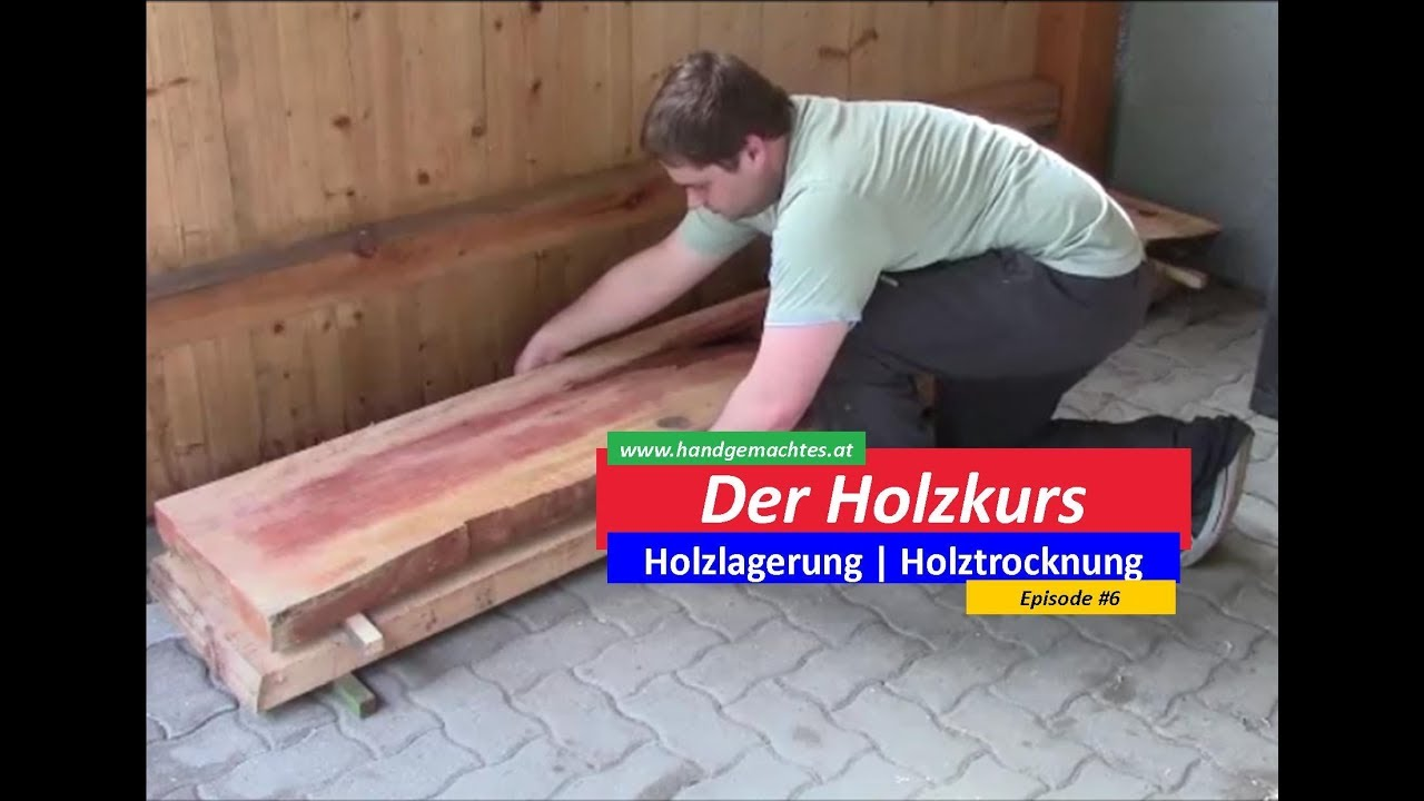 der holzkurs wie lagere ich holz wie trockne ich holz episode 6 youtube. Black Bedroom Furniture Sets. Home Design Ideas