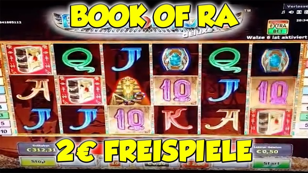 Book Of Ra 2€ Freispiele
