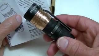 Manker E14 - 1400 lumen Nichia LED Flashlight