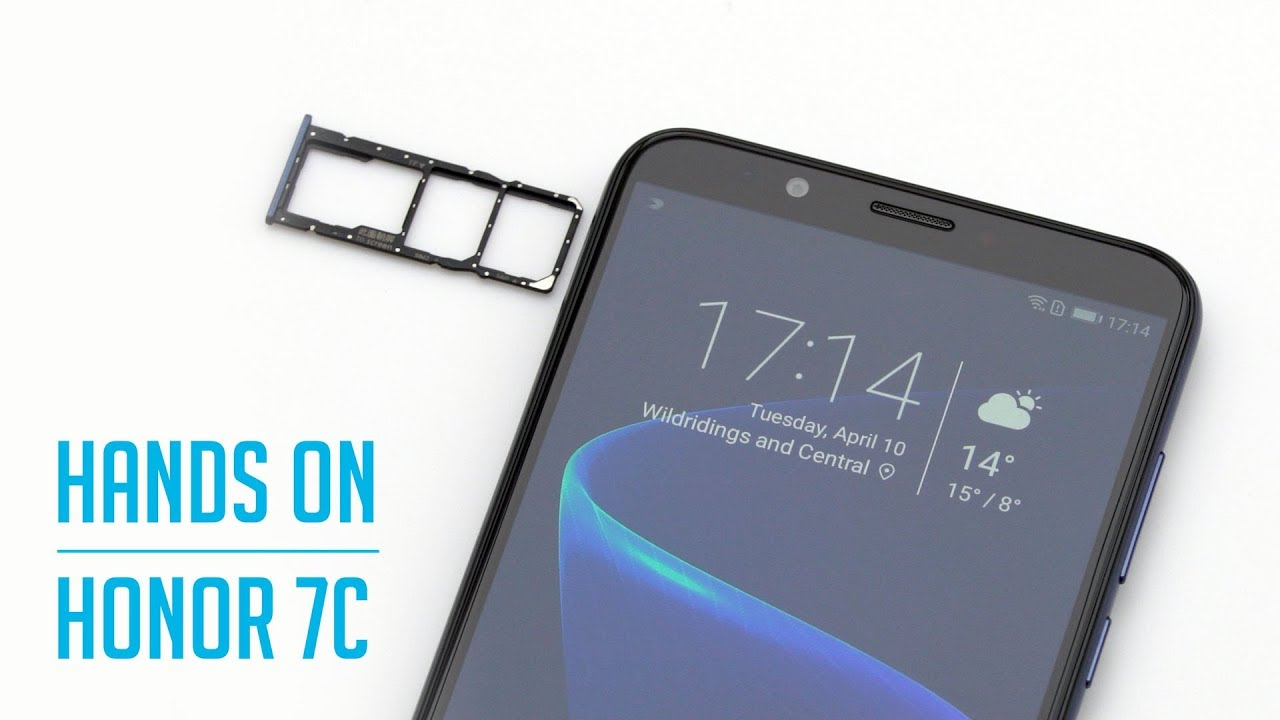 Honor 7C - Hands On
