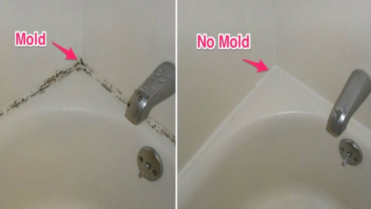 Get rid of mold safely naturally and permanently youtube - How to clean black mold in bathroom ...