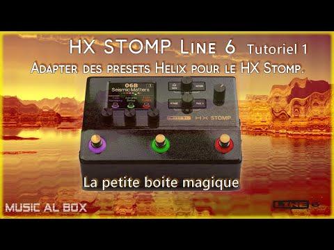 HX Stomp Adapter des presets Helix pour le HX Stomp.