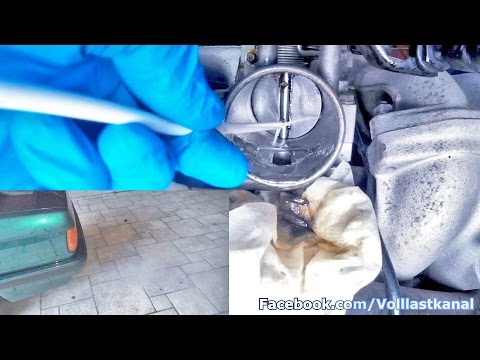 DROSSELKLAPPE REINIGEN OHNE AUSBAU mit Liqui Moly / How To Clean A Throttle Body Valve