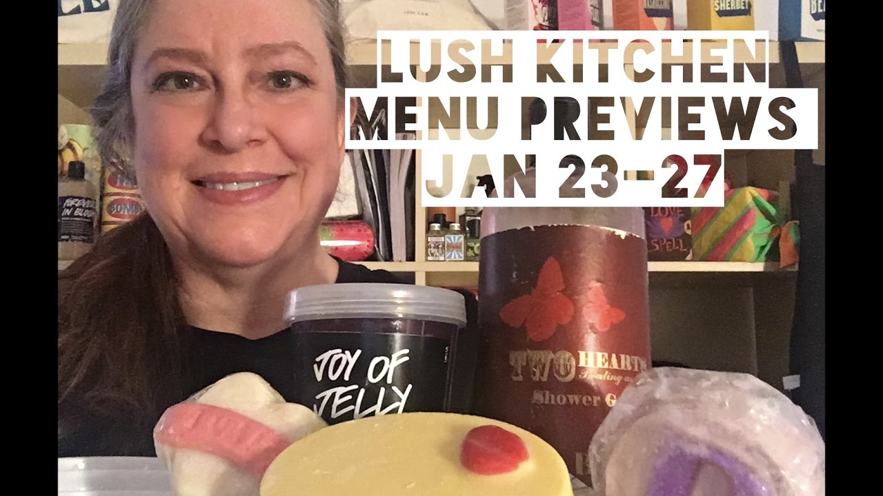 Lush Kitchen Menu Previews January 23-27 - YouTube