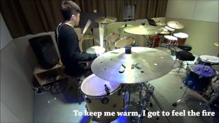To Feel The Fire - One Ok Rock (Drum covered by ChiKin)