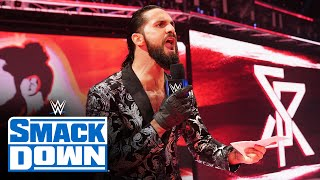 Seth Rollins pledges to destroy anyone who stands in the way of his vision SmackDown, Feb. 19, 20..