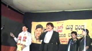 Junior Rajkumar Ashok Basti with Tiger Prabhakar