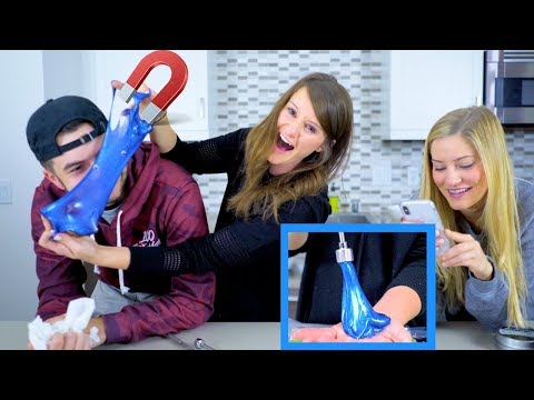Download Youtube: MAGNETIC SLIME! 🔹 Does it work??