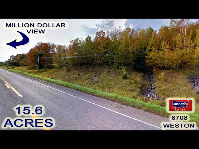 Maine Land Video | Weston ME Real Estate 15.6 Acres MOOERS REALTY 8707