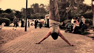 Street Workout - Handstand -HSPU  (kiss the ground )