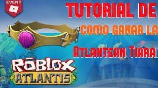 (TRUCO) TUTORIAL on how to WIN ROBLOX's Atlantean Tiara