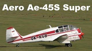 Aero Ae-45S Super with ATC - Oldtimer weekend AK Brno Medlanky 2017