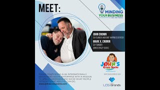Meet John's Crazy Socks co-founder/chief happiness officer John Cronin & co-founder Mark X. Cronin