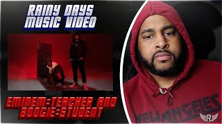 RAINY DAYS MUSIC VIDEO | BOOGIE FT EMINEM | REACTION
