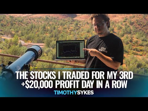 The Stocks I Traded For My 3rd +$20,000 Profit Day In A Row