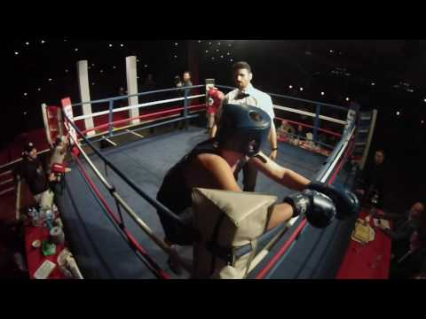 Ultra White Collar Boxing | Aldershot | Leon O'Leary VS Tony