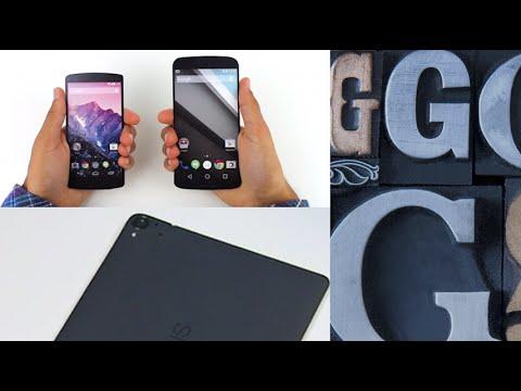 Nexus 6 and Nexus 5 Comparison! Nexus 9 Gets Leaked ...