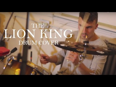 The Lion King's Circle of Life: Dan Breaden Drums