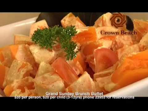 Crown Beach Resort & Spa - Sunday Brunch