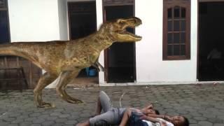 vuclip video lucu edit dinosaurus