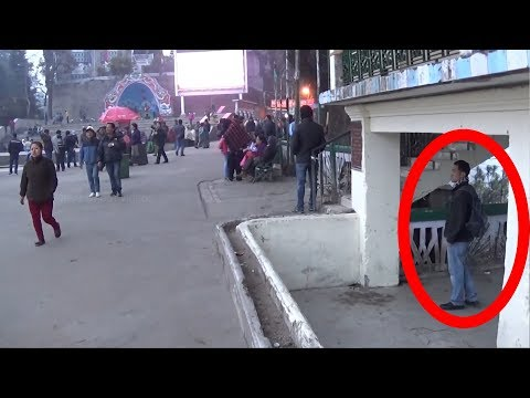 Real Ghost caught on Camera at Darjeeling Hills - Real Ghost Videos in india - Real Scary Videos