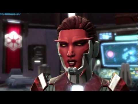 SWTOR - Female Sith Pureblood Sith Warrior Marauder - Storyline Part 2