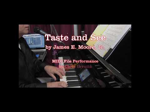 Taste and See - James E. Moore Jr.