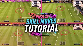 THE ONLY SKILL MOVES YOU NEED TO KNOW IN FIFA 21 - MOST EFFECTIVE SKILLS TUTORIAL
