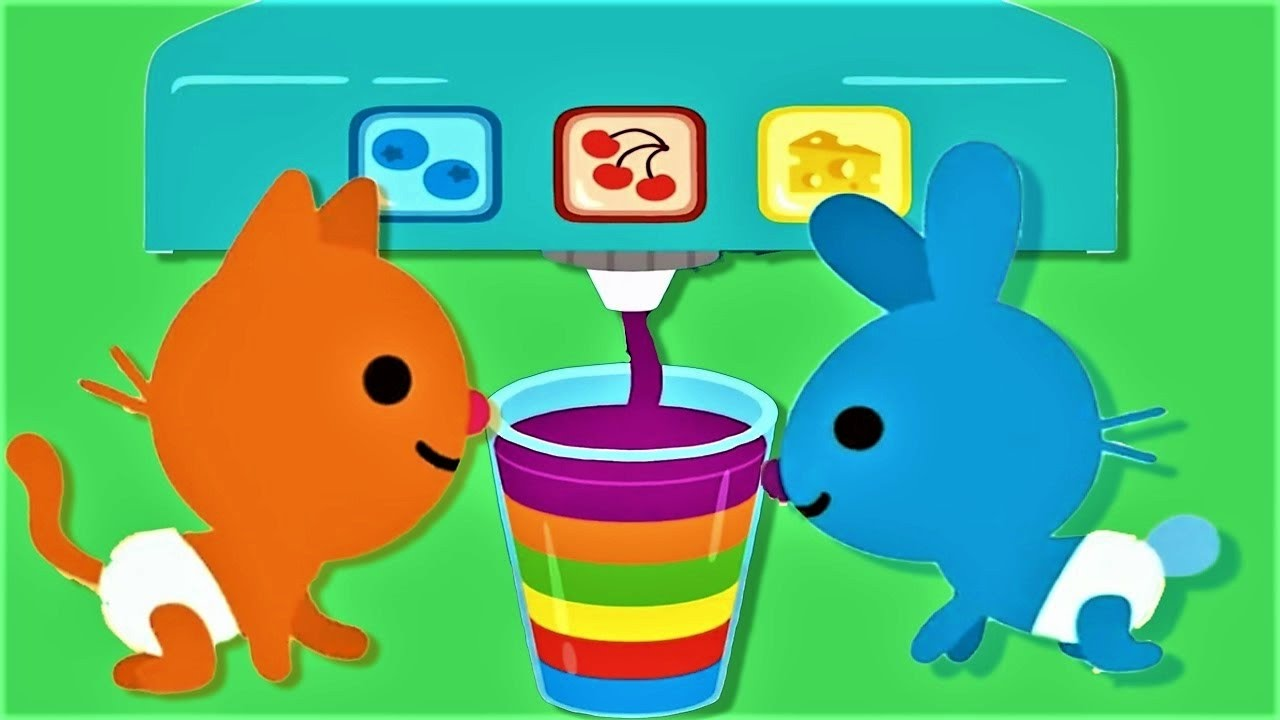 Sago Mini Babies Pet Cafe - Baby Learn Colors and Play Preschool ...