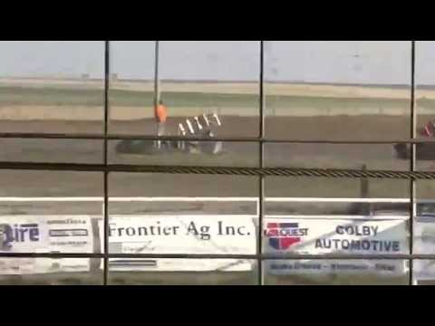 Steven Richardson heat at Thomas County Speedway 6/29/14