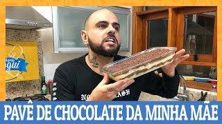COMO FAZER PAVÊ DE CHOCOLATE E CREME DA MINHA MÃE | Ana Maria Brogui #532
