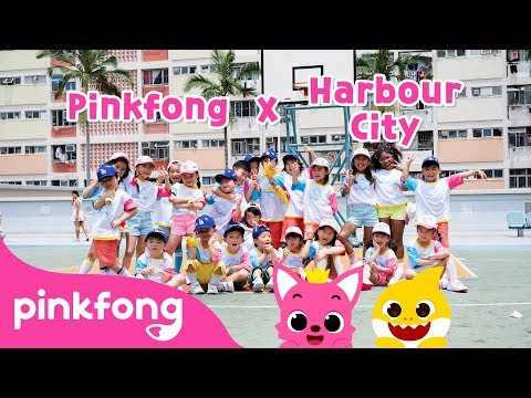 Official Baby Shark Music video @Hong Kong Harbour City | Pinkfong Baby Shark X Harbour City