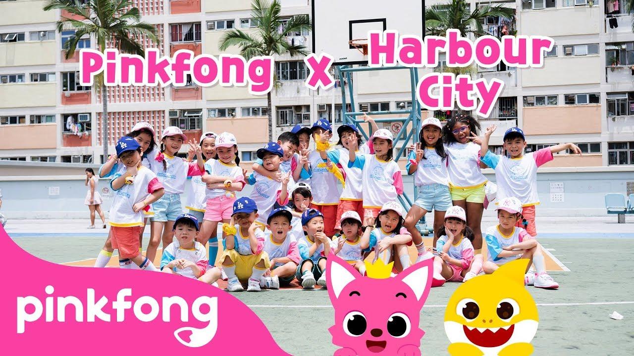 Official Baby Shark Music video @Hong Kong Harbour City | Pinkfong Baby Shark X Harbour City