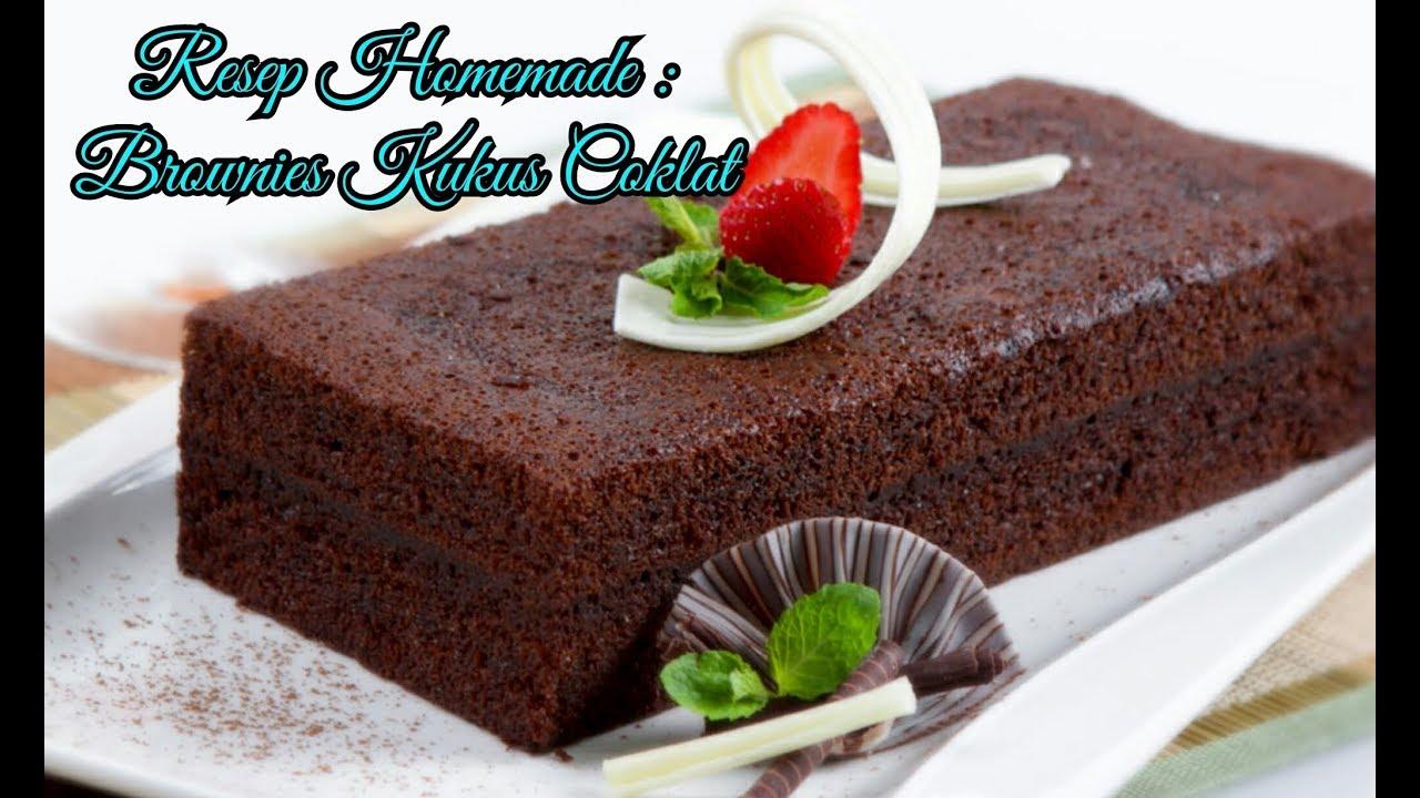 Resep Cake Kukus Gula Palem: Resep Dan Cara Membuat Brownies Kukus Coklat Mudah