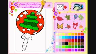 Christmas Coloring 2 - Painting Games
