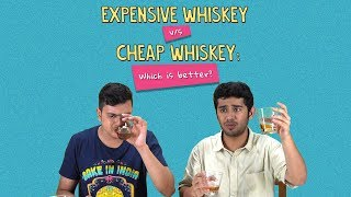 Expensive Vs Cheap Whiskey: Which Is Better? | Ft. Akshay & Aakansha | Ok Tested