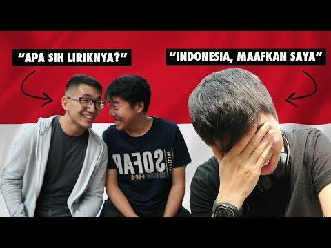 FINISH THE LYRICS CHALLENGE: INDONESIAN NATIONAL SONGS