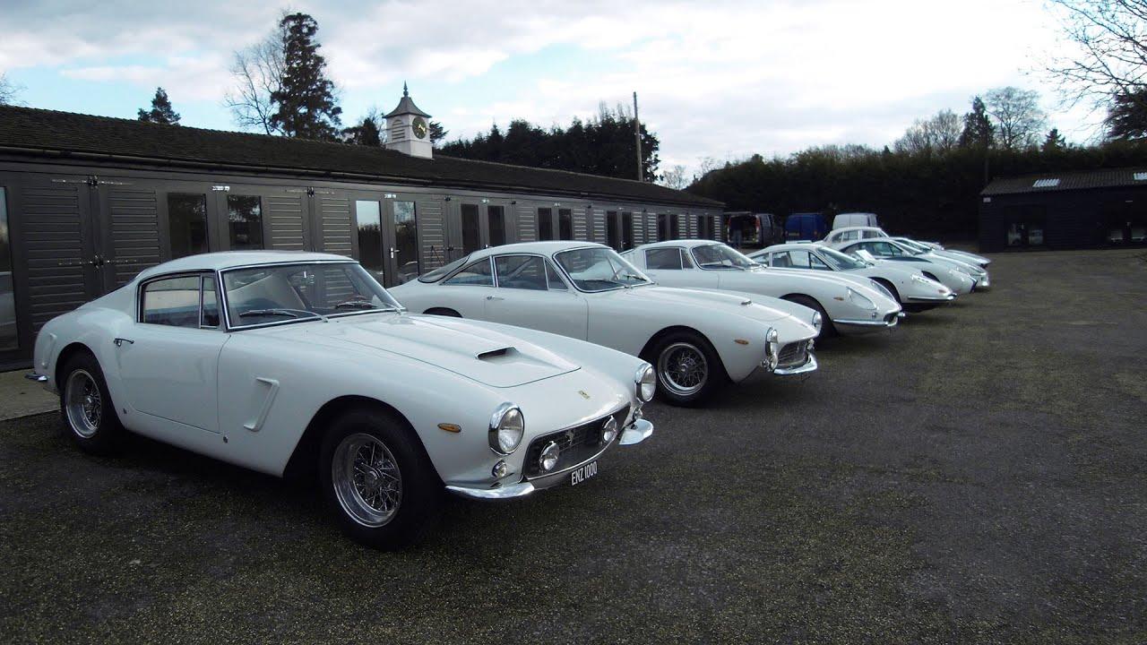 Building A Classic Ferrari Collection Youtube